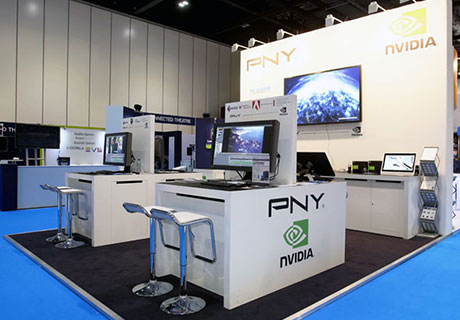 PNY Technologies Custom Exhibition Stand