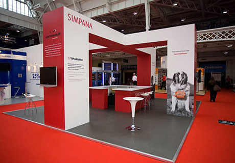 Simpana Custom Exhibition Stand